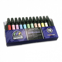 Набор маркеров Chartpak Marker 12 Color Set Pastels