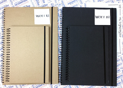Скетчбуки Seawhite Indie Sketchbooks Craft cover (40 стр., 140gsm, эко бумага)