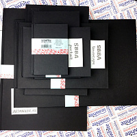 Скетчбук Seawhite Black Cloth Hardbacked Sketchbook (92 стр., 140 gsm)