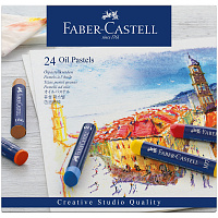 Набор пастели масляной Faber-Castell Oil Pastels 24 цвета