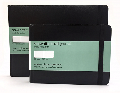 Скетчбук Seawhite Landscape Watercolour Travel Journall (60 стр. 200 gsm)